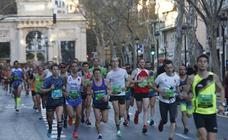 Todas las imágenes del Medio Maratón de Valencia 2018