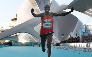 Kamworor se impone en el Mundial de Medio Maratón de Valencia