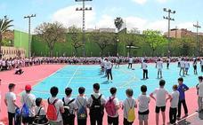 Los colegios de Massamagrell participan en la jornada deportiva