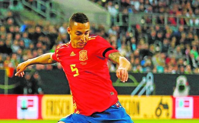 Rodrigo lleva su ritmo a la selección