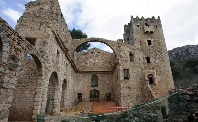 Patrimonio continúa sin invertir en la rehabilitación del Monasterio de la Murta