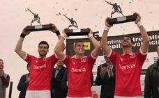 Ian, Canari y Ricardet, campeones de la Lliga de raspall