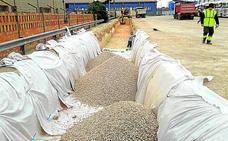 Una empresa implanta el sistema de drenaje sostenible en el polígono de Quart