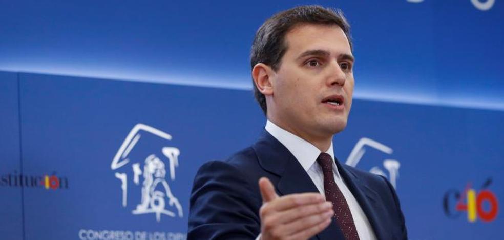 Rivera anuncia un acuerdo con el Gobierno para apoyar los Presupuestos