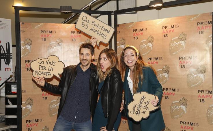 Gala de premios de la Asociación de Actores Valencianos en el teatro Rialto