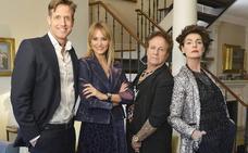 Óscar Martínez, Alba Carrillo, Fortu y Antonia Dell'atte, en la próxima entrega de 'Ven a cenar conmigo Gourmet Edition'