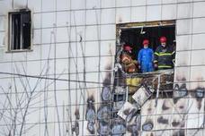 De los 64 fallecidos en el centro comercial siberiano 41 son niños