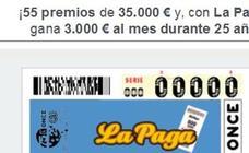 La ONCE reparte 175.000. euros en el hospital Verge dels Lliris de Alcoy