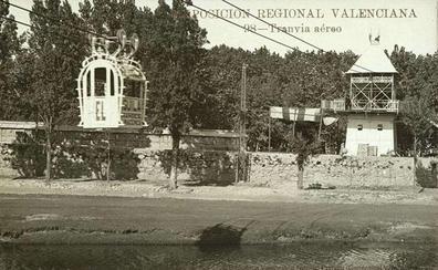 Valencia tuvo un tranvía aéreo que revolucionó Europa