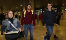 Nadal ya está en Valencia: «Vengo a hacerlo lo mejor posible»