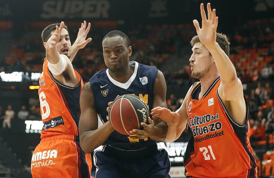 El Valencia Basket - UCAM de Murcia, en imágenes