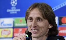 Modric: «Lo fundamental es cuidar los pequeños detalles»