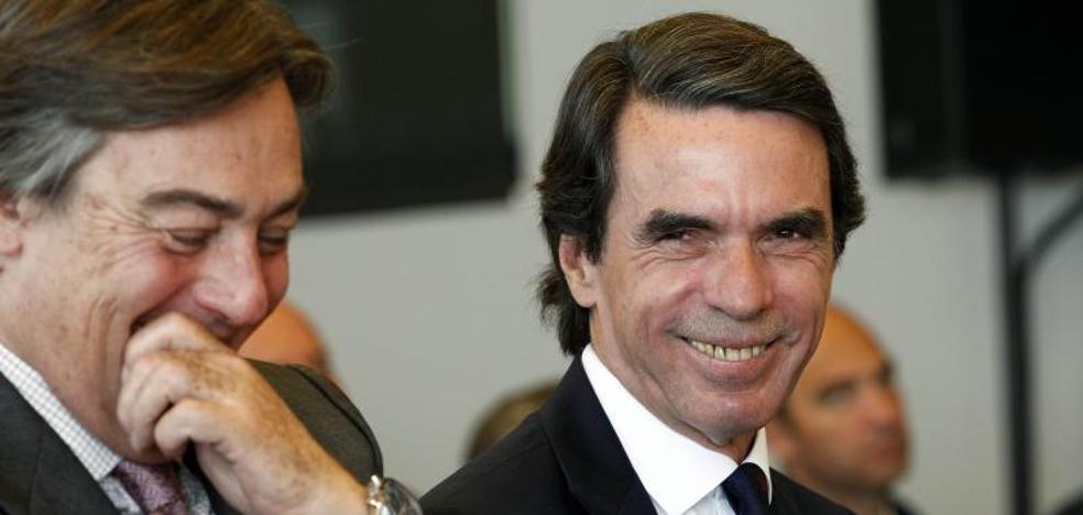 Aznar avisa del riesgo de expansión del proyecto nacionalista a la Comunitat