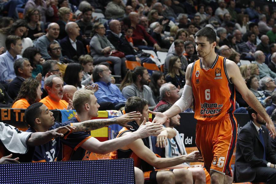 Fotos del Valencia Basket-Maccabi Tel Aviv en la Fonteta