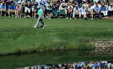 Sergio García firma su récord más triste en el Masters de Augusta: cinco bolas al agua y 13 golpes en un solo hoyo