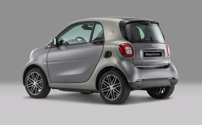 50 unidades 'Pull&Bear' del Smart Fortwo eléctrico