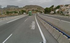 Un peatón muere atropellado por un camión en la A-31 en Petrer