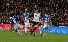 El Valencia CF ya es tercero y subiendo