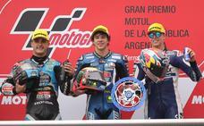 El valenciano Arón Canet, nuevo líder del Mundial de Moto3