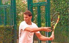 Nadal y Zverev, en el Sporting sin faroles