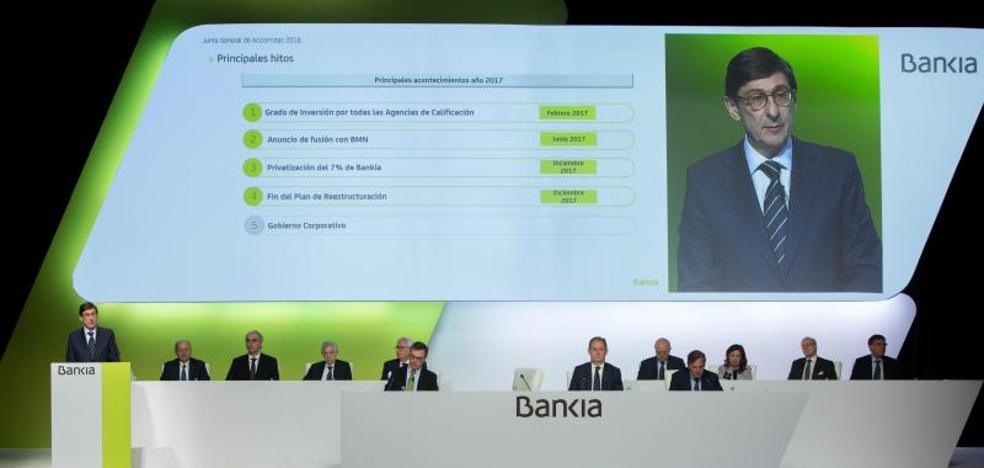 Goirigolzarri aspira a hacer de Bankia «el mejor banco de España» en 2020