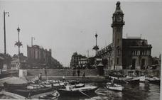 La dársena histórica del Puerto de Valencia