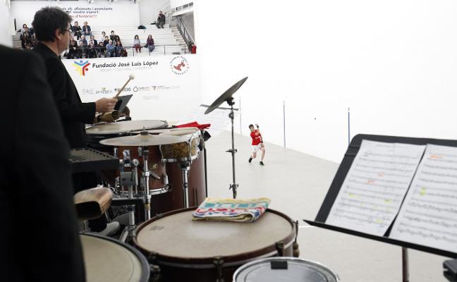 El festival Ensems arranca su 40 aniversario al sonido de la pilota valenciana