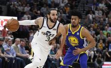 Los Jazz humillan a los Warriors en su último partido de temporada