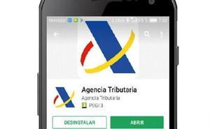 Las ONG denuncian que la aplicación para móvil no permite marcar la casilla solidaria