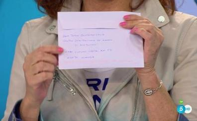 Ana Julia escribe una carta a Ana Rosa Quintana diciendo que la muerte de Gabriel fue un accidente