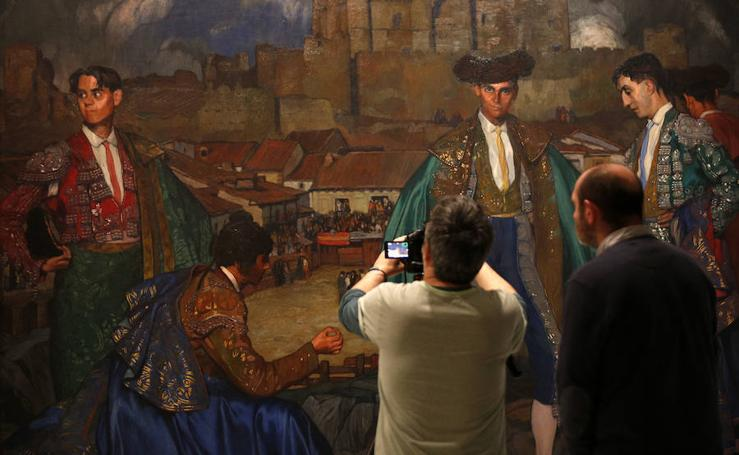 El Zuloaga icónico, inédito y más emocionante se muestra en Valencia