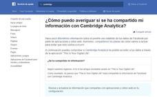 Así puedes saber si eres uno de los afectados por la filtración de datos de Facebook