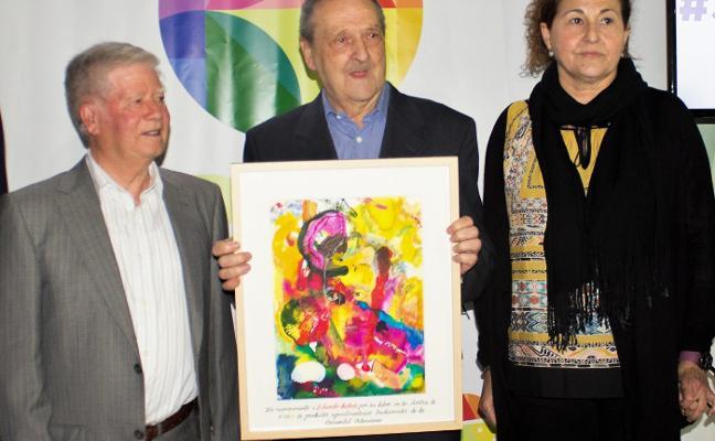 Eduardo Mestres, fundador de la Mostra, homenajeado