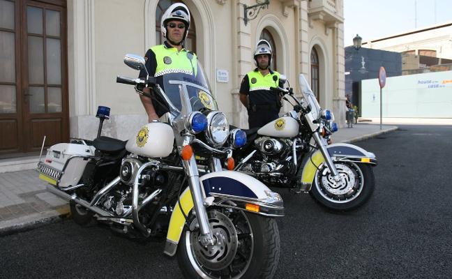 Una empresa se queda con las seis Harley Davidson de la Policía Local de Valencia