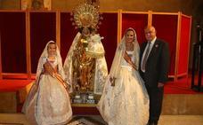 Calendario del Besamanos fallero a la Virgen de los Desamparados 2018