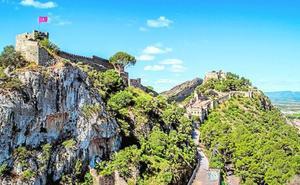 El castillo de Xàtiva, mucho más visitado