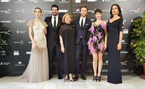 El glamur convive con la lluvia en la gala inaugural del 21 Festival de Málaga