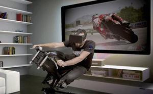 De Cheste al salón: llega el primer simulador de motos doméstico