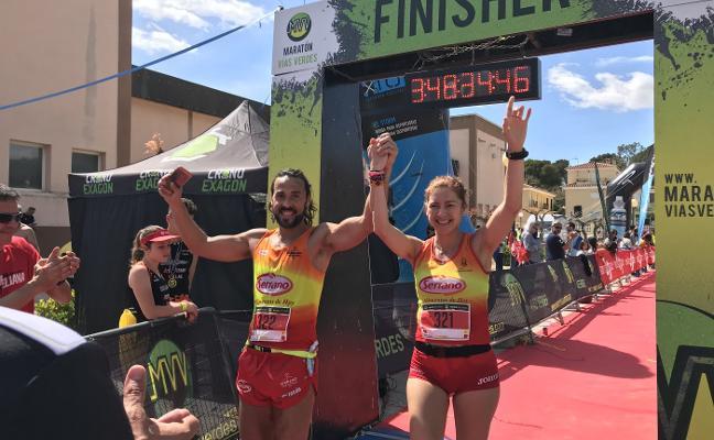 Natacha Lopez, a tres maratones del reto