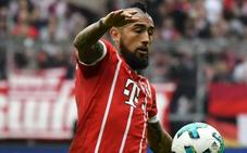 Vidal pasará por el quirófano y será baja casi segura ante el Madrid