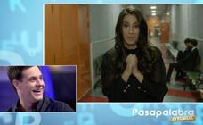 Almudena Cid sorprende a su marido Christian en el estreno de 'Pasapalabra en familia': «Te quiero»