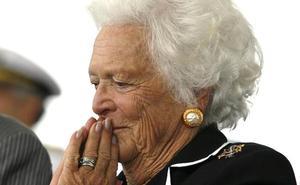 Barbara Bush entra en cuidados paliativos tras rechazar un nuevo tratamiento médico