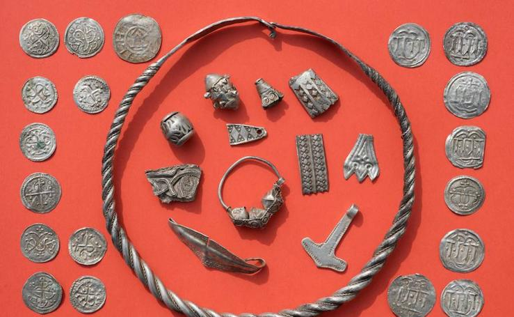El tesoro del rey vikingo Harald Bluetooth