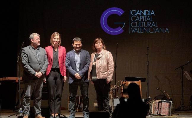 Gandia dice adiós al título de capitalidad cultural y cede el testigo a Potries y Sagunto