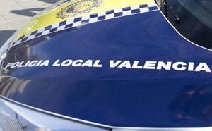Detenido un hombre por perseguir, amenazar y agredir a su expareja en la calle en Valencia