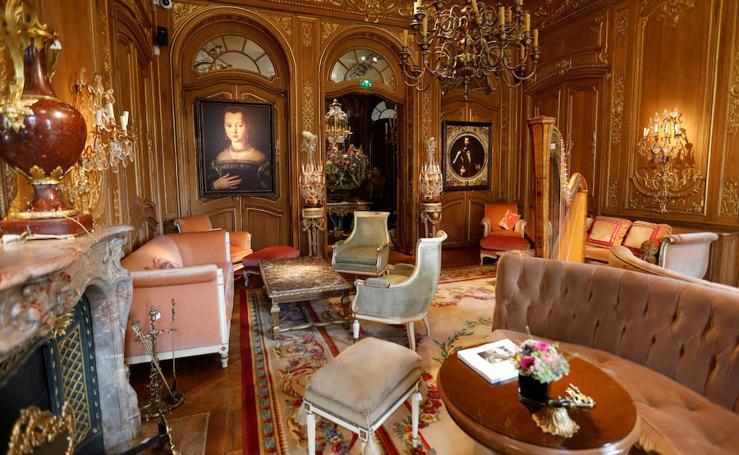Los muebles del hotel Ritz de París, a subasta