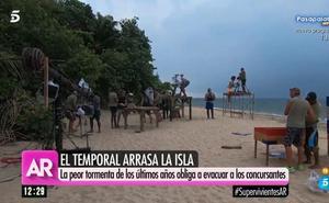 Los concursantes de 'Supervivientes', evacuados de urgencia de la isla