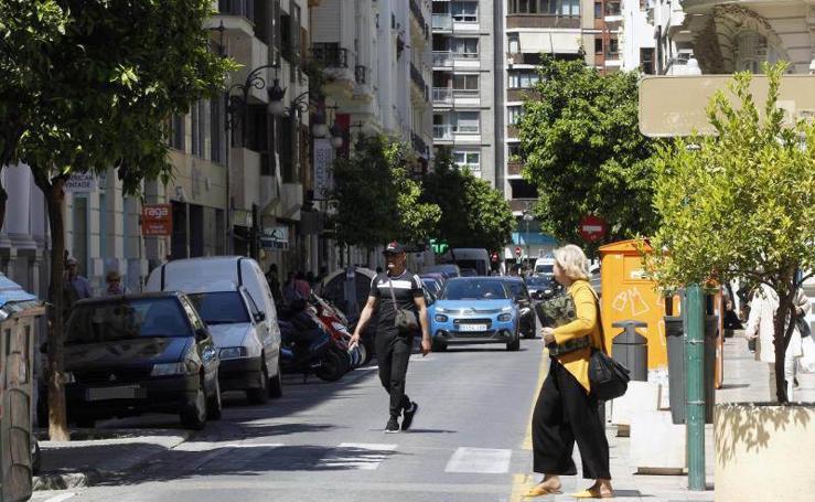 El Ayuntamiento plantea peatonalizar parte de la calle Jorge Juan de Valencia tras su reforma