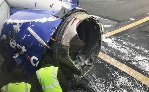 Muere una pasajera al romperse la ventanilla de un avión en pleno vuelo
