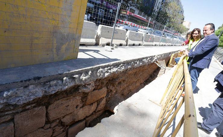 Nuevos restos de la muralla de Valencia